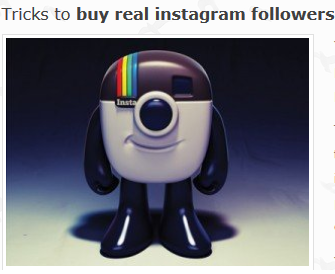 buying real Instagram Followers that like your photos