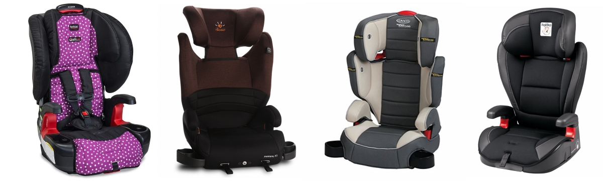 High-Back Booster Seat